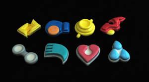 Hoenn Badge Prototypes by Karmada