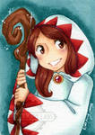 Sketch Card - White Mage