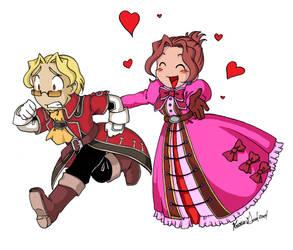 :Gilder and Clara: by Karmada