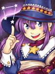 Cute Astronomy Mage