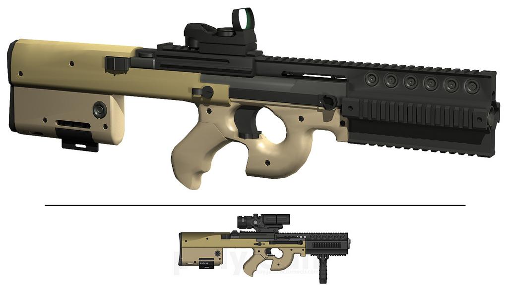 Modified P90 by TheBadPanda2