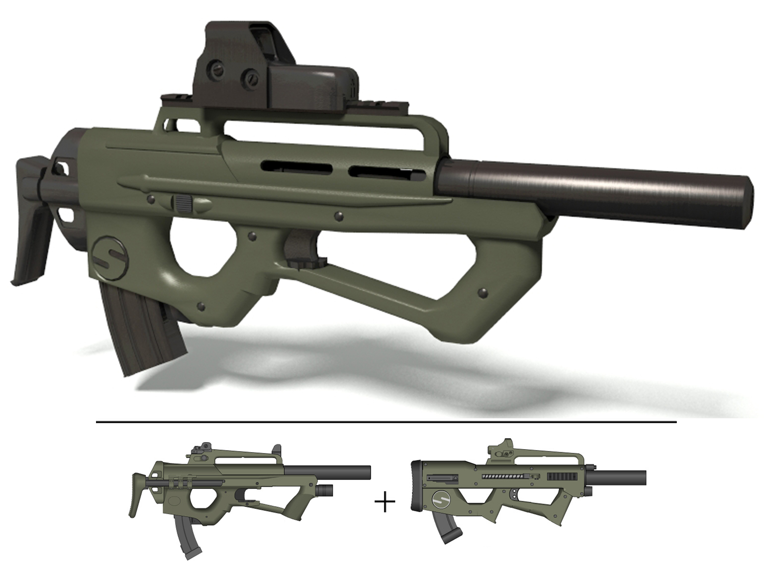 Modified FN2000 by TheBadPanda2
