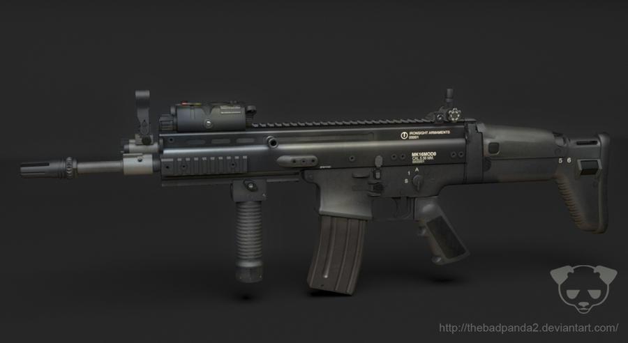 FN SCAR by TheBadPanda2