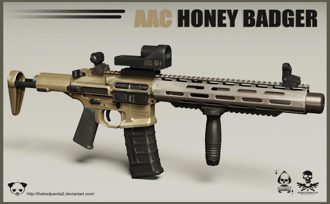Encuesta armas favoritas Aac_honey_badger_rifle_by_thebadpanda2-d4q5k8x