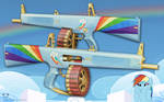AA-12 Shotgun - Rainbow Dash Edition
