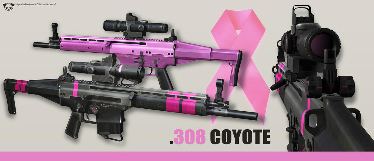 Modified FN SCAR H - Breast Cancer by TheBadPanda2