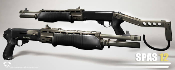 SPAS 12 Shotgun