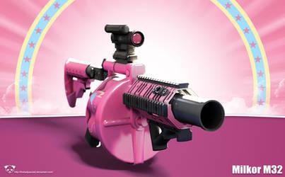 Milkor M32 - Pinkie Pie Edition