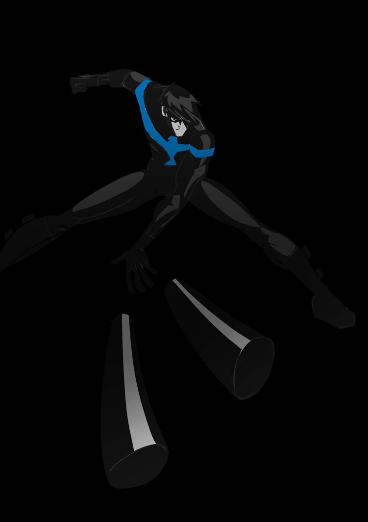 Nightwing by traumwelt75
