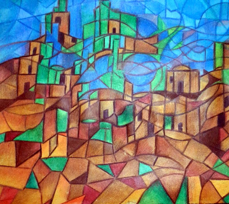 Desert village by maryamrezaei