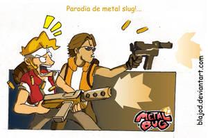 metal slug by Blajod