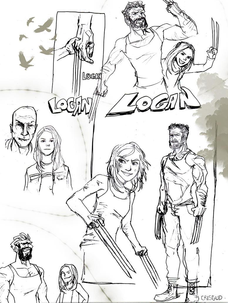 Logan fanart by Blajod
