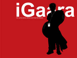 iPod Gaara by Lusei