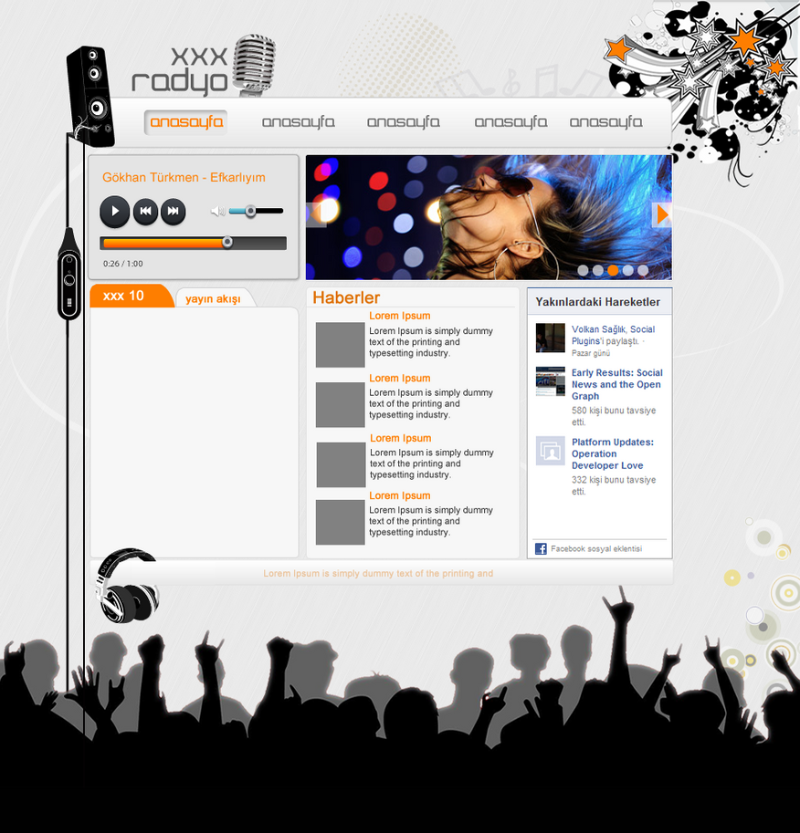 web design, web radio by aztechhhh on DeviantArt