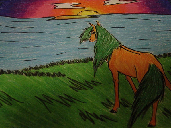 Sunset Hill by Bandach