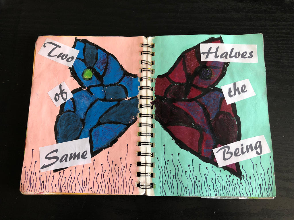 Two Halves by epjames