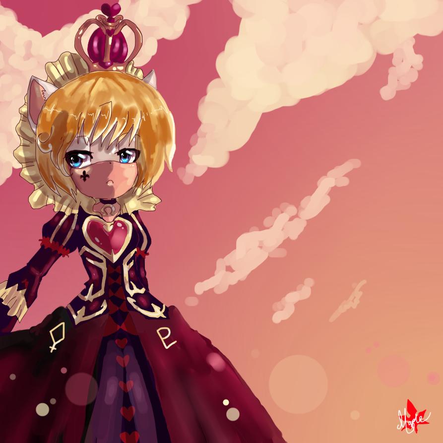 Queen of the Hearts by NeroFarron