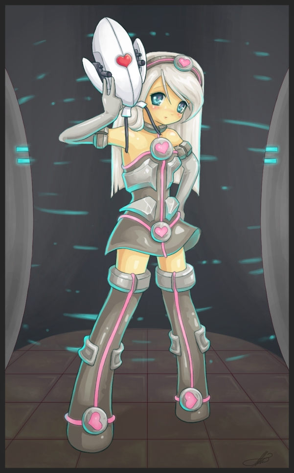 Weighted Companion Cube :Portal: by DestinyBlue