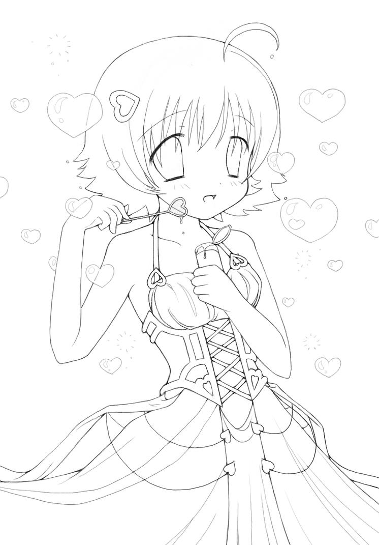 anime coloring pages deviantart photoshop - photo#29