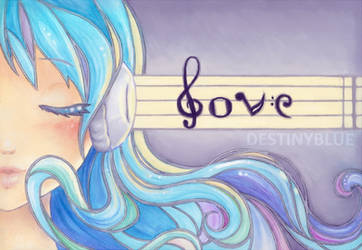 : Music : Art : Love : by DestinyBlue