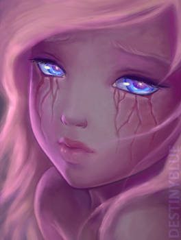 If tears left scars... by DestinyBlue