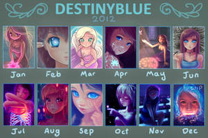 in 2012 DestinyBlue Drew...