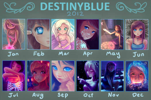in 2012 DestinyBlue Drew...