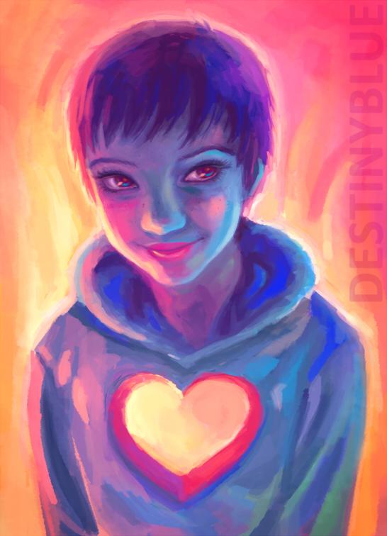 Shy Heart by DestinyBlue