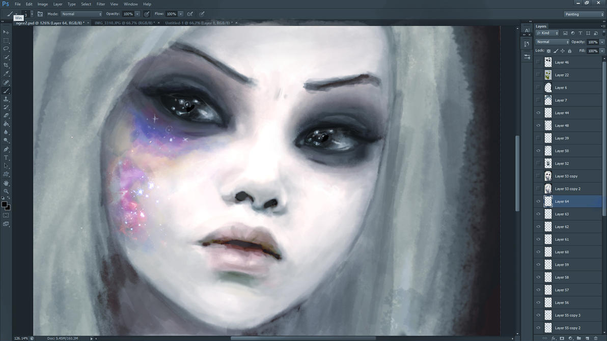 Her Bruised Universe (WIP) by DestinyBlue
