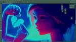 Paper Heart -WIP by DestinyBlue