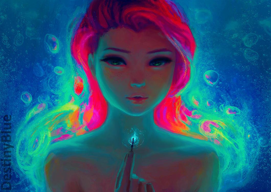 Fire Underwater By Destinyblue On Deviantart