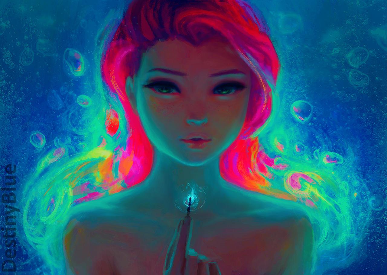 Fire Underwater by DestinyBlue