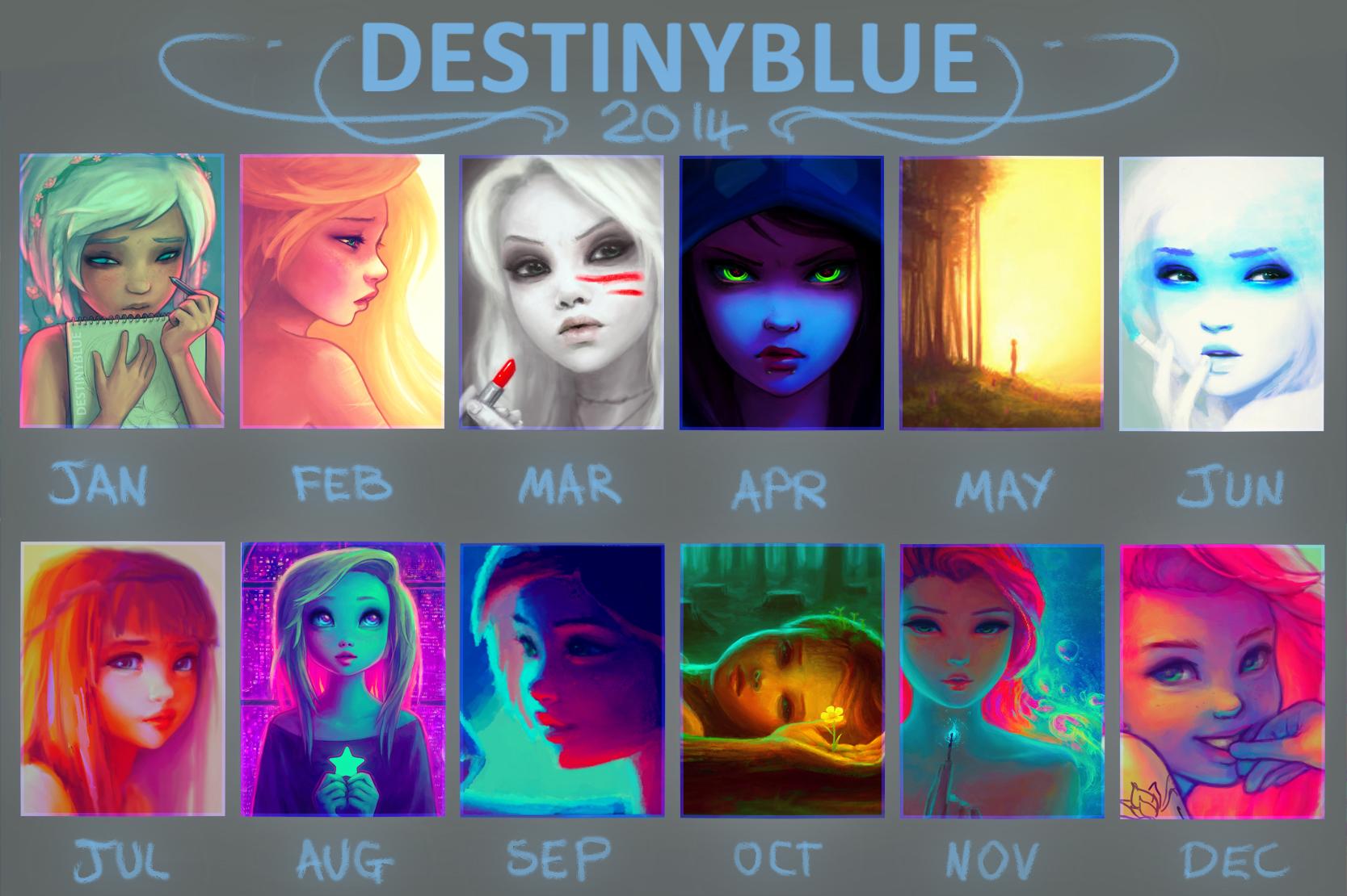 In 2014 Blue Drew...