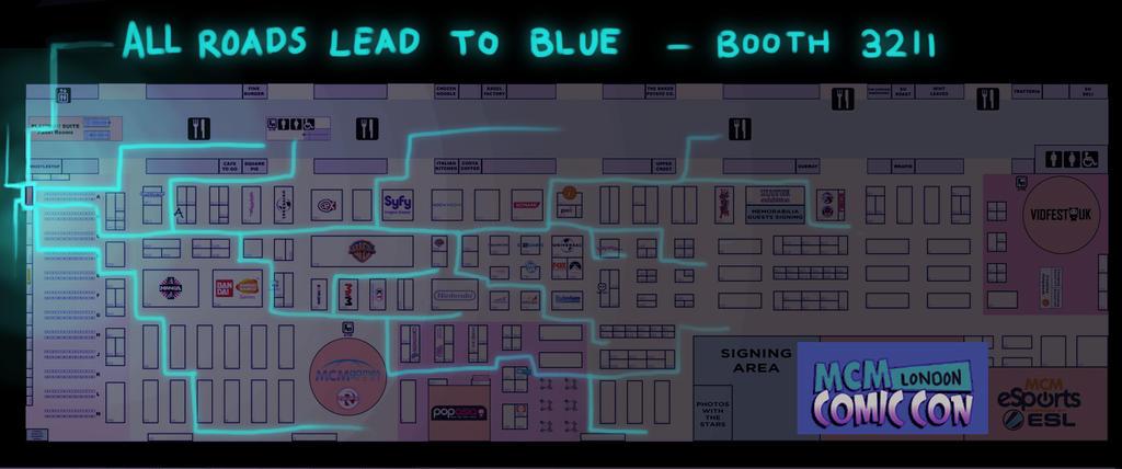 mapMCMLondon by DestinyBlue