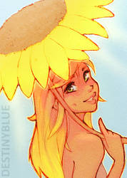 Sunny - Limited Release Print by DestinyBlue