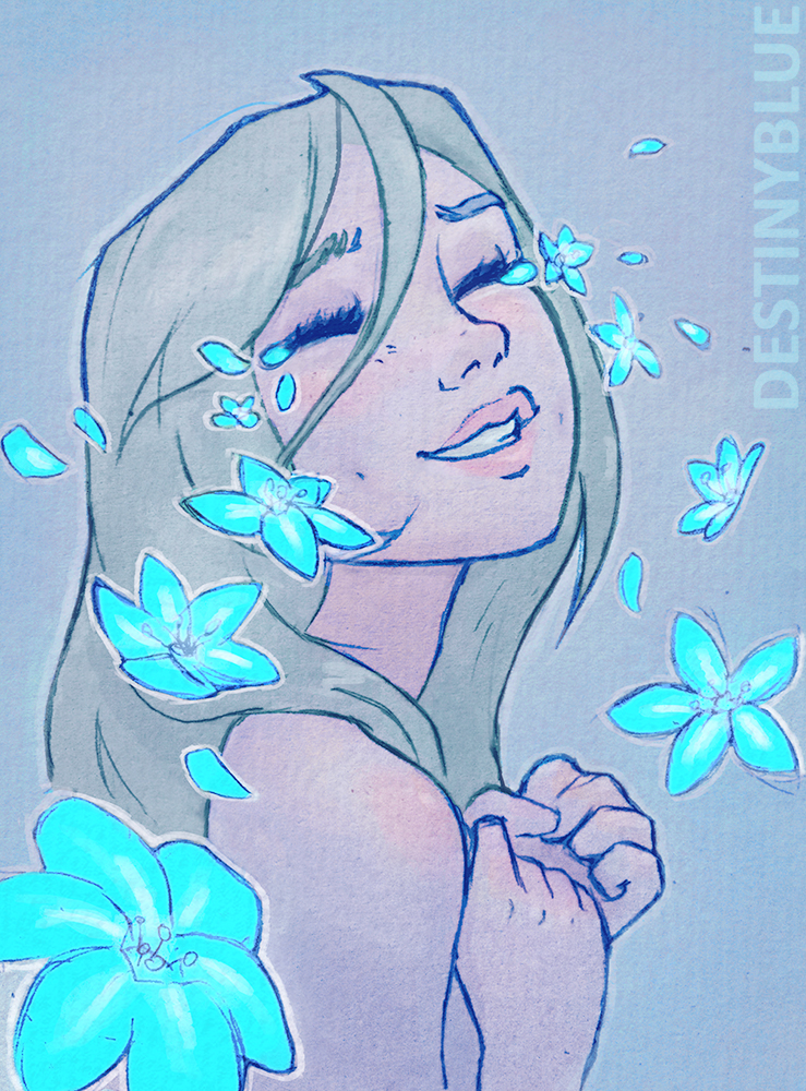 Happy Tears- Limited Print by DestinyBlue