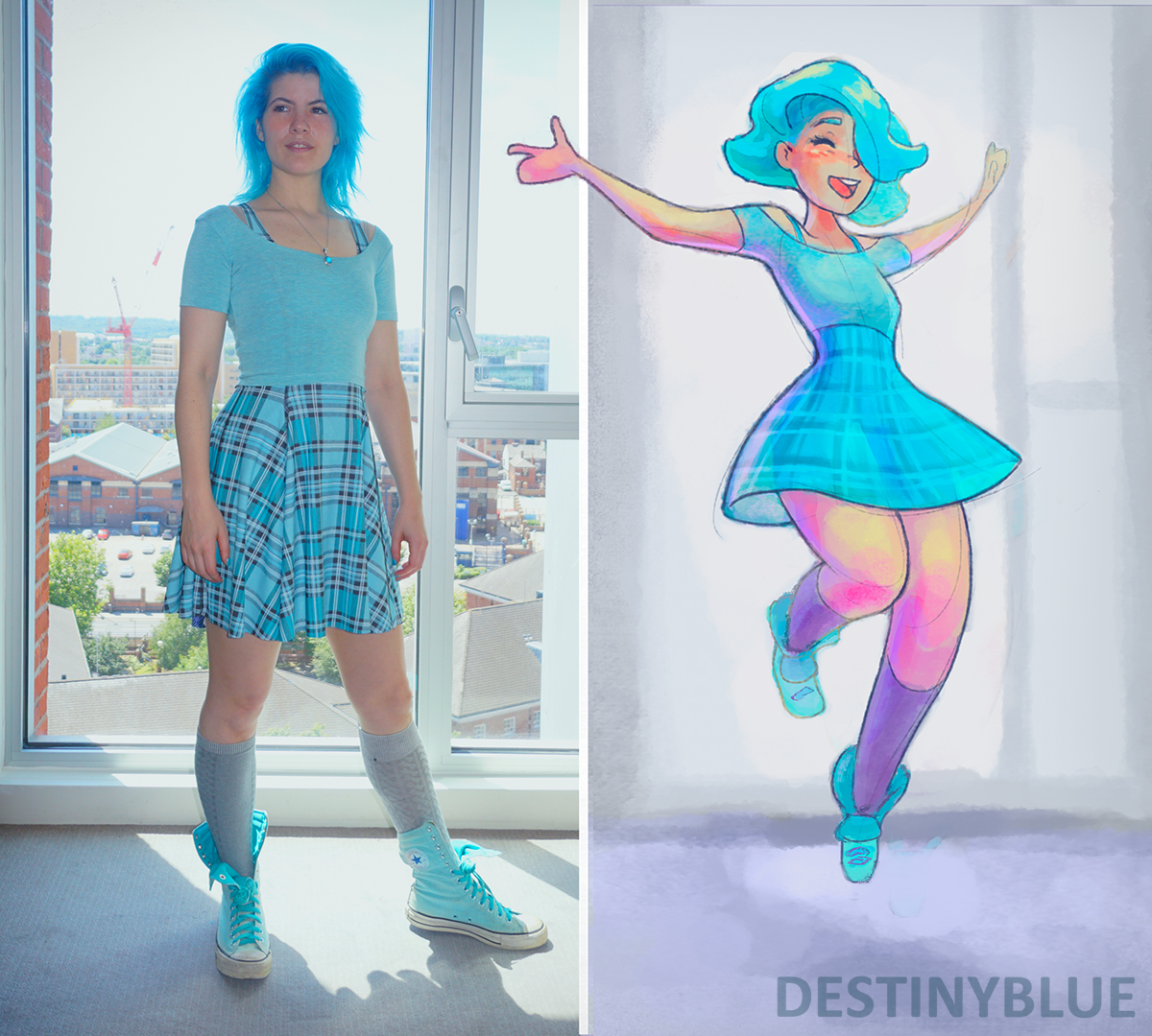 Artist Outfit Of The Day Drawing!