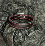 simple and minimalistic leather bracelet