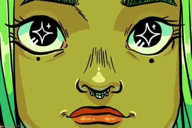 tfw ur a alien princess by Kaykonut