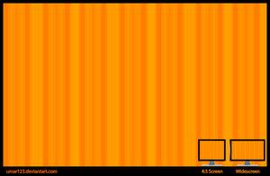 Orange Stripes by 365art