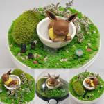 Eevee Poke'rarium, Pokemon Pokeball Terrarium