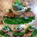 Bulbasaur Poke'rarium, Pokemon Pokeball Terrarium