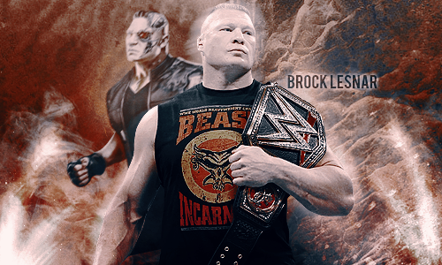 Brock Lesnar Signature 2015 By Laiokcho