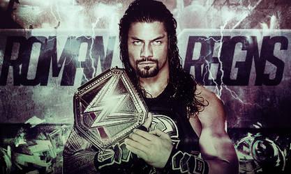 Roman Reigns 2016 Champion Signature