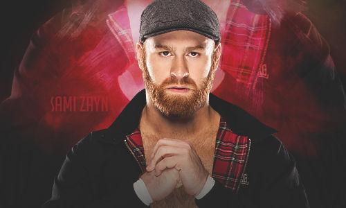 WWE Sami Zayn 2016 Signature