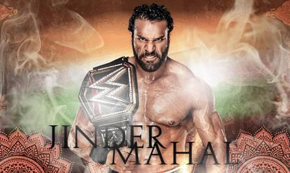 Jinder Mahal Signature 2017 - MAHARAJA