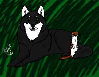 Inner Animal by xMoonlight-Wolfx