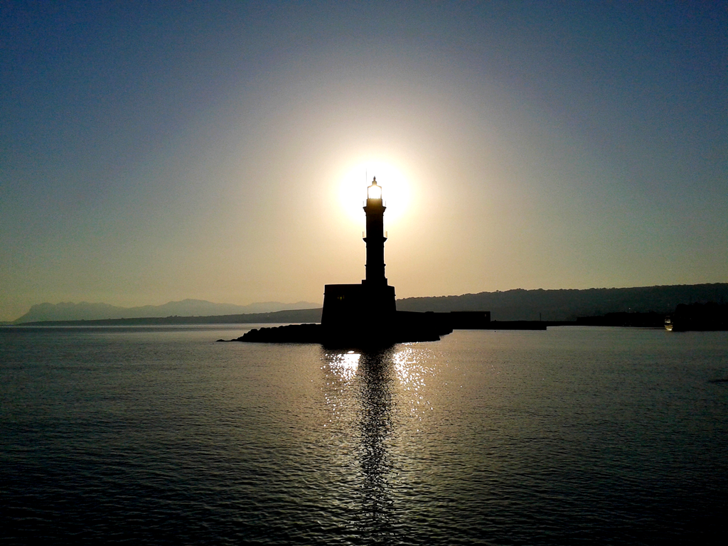 Chania Light House by marciordc
