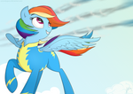 The rainbow wonderbolt