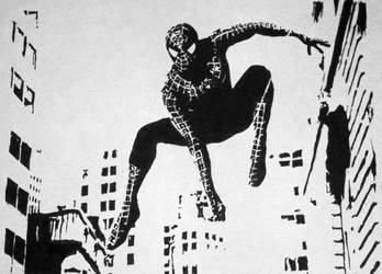 Spiderman by artdragonslayer